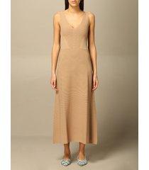 emporio armani dress emporio armani long knit dress