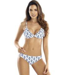vestido de baño bikini mistery panty reversible mtm 214/306