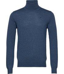 lyd merino turtleneck sweater knitwear turtlenecks blauw j. lindeberg