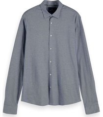 regular fit- knitted dress shirt