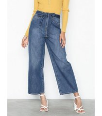 vero moda vmkathy hr belt jeans ci bootcut & flare