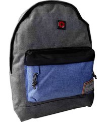 morral swissbrand asis-gris oscuro