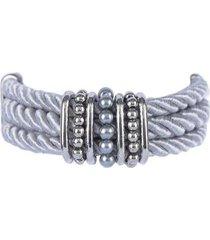 pulseira armazem rr bijoux cordão - feminino