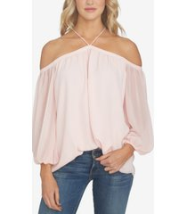 1.state off-the-shoulder solid top