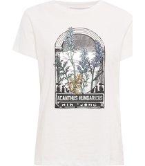 elliot t-shirts & tops short-sleeved vit munthe