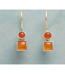 carnelian duo earrings