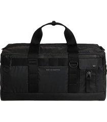 want les essentiels zip-up duffle bag - black