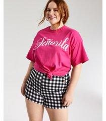 mighty fine trendy plus size senorita t-shirt