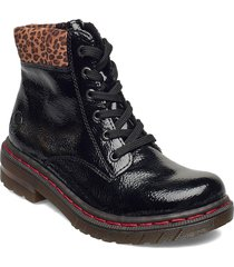 76212-00 shoes boots ankle boots ankle boot - flat svart rieker