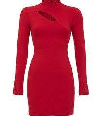 sukienka mini w kolorze głębokiej czerwieni