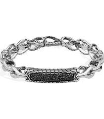 john hardy men's asli id bracelet