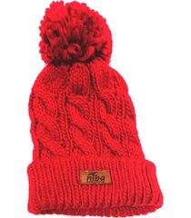 gorro de lana yacal rojo niba