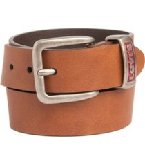 levi's big boys casual jean belt with engraved metal keeper