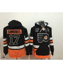 philadelphia flyers wayne simmonds hockey pullover hoodie jersey