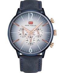 reloj análogo f0114gl-4 hombre azul