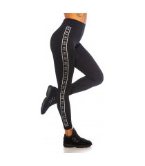 sexy cool naadloze thermo leggings zilver