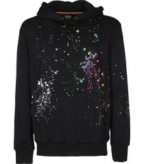 paul smith black cotton sweatshirt