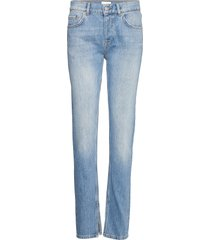 classic denim raka jeans blå ganni