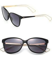 'confident 2' 57mm square sunglasses
