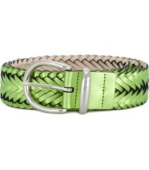 b-low the belt woven belt - green