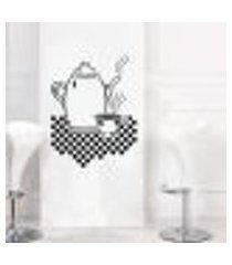 adesivo de parede para cozinha modelo café 5 - médio