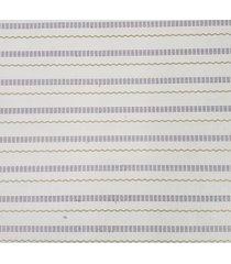 kit 2 rolos de papel de parede fwb adesivo listrinhas roxo e verde - roxo/verde - dafiti