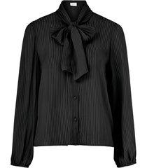 blus vigeeta tie l/s shirt