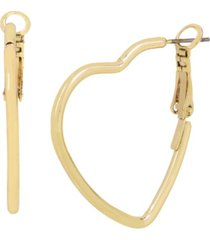 jessica simpson heart hoop earrings