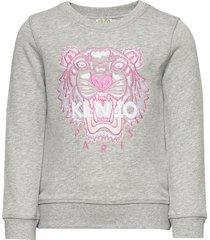 tiger jg b2 sweat-shirt trui grijs kenzo