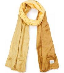 pañuelo bicolor amarillo humana