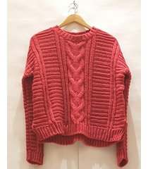 sweater coral pink sisly