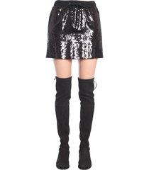 alberta ferretti sequin skirt