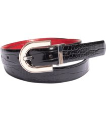 inc international concepts embossed reversible belt, created for macy's