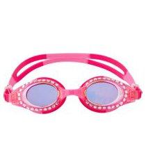 óculos de nataçáo stephen joseph com brilho pink