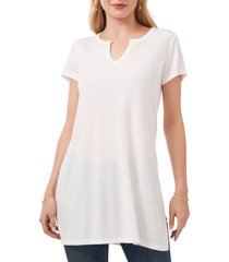 vince camuto side knot tunic top, size small in new ivory at nordstrom