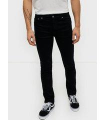 dr denim chase jeans black