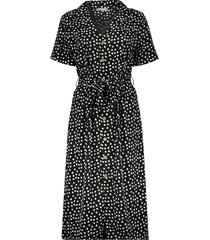 07135-21 dress with dots & collar