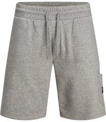 jack & jones men's stone fleece shorts