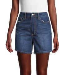 joe's jeans women's vintage easy denim shorts - covina - size 23 (00)