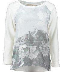 garcia sweater spring white materiaalmix