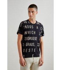 camiseta reserva coordenadas masculino