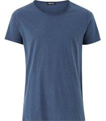 t-shirt med rund halsringning