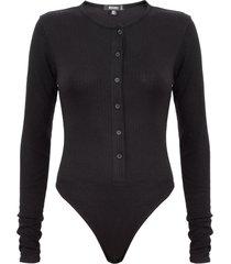 body missguided negro - calce ajustado