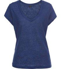 maglia in lino (blu) - bodyflirt