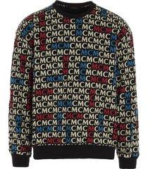 mcm mcm monogram sweatshirt