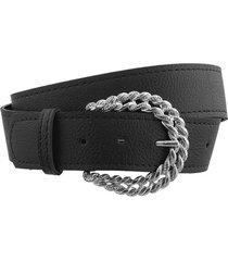 cinturón negro bohemia maxi