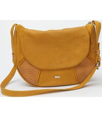 torebka listonoszka podkówka leather bag
