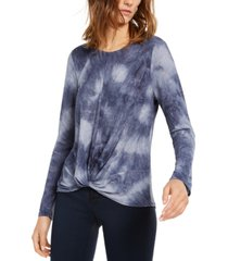 inc twisted tie-dye t-shirt, created for macy's