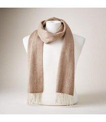 sundance catalog men's erden scarf in camel