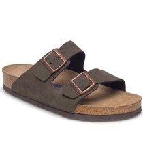 arizona soft footbed shoes summer shoes sandals grå birkenstock